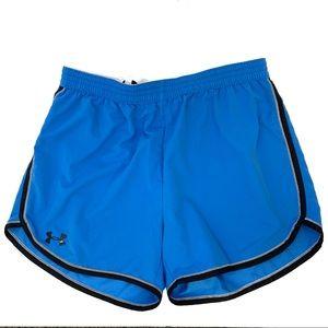 Under Armour Women's XL Blue Running Shorts